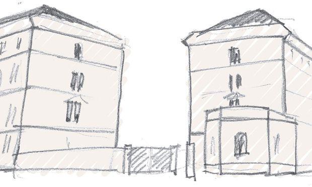 Illustration: BVT-Gebäude