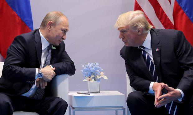 Putin und Trump haben sich noch nie zu einem bilateralen Gespräch getroffen.