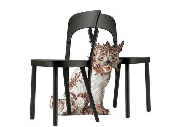Robert Stadler. Wenn Thonet-Stühle auf Meißner Porzellan treffen.