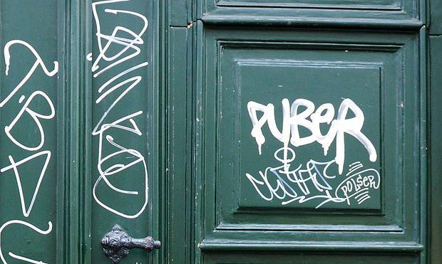 Archivbild: Ein Puber-Tag in Wien-Neubau
