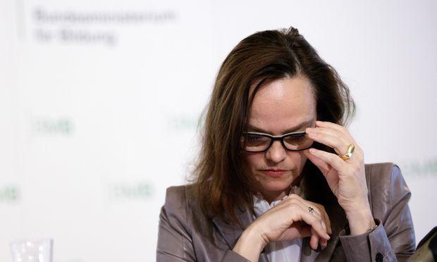 Bildungsministerin Sonja Hammerschmid.
