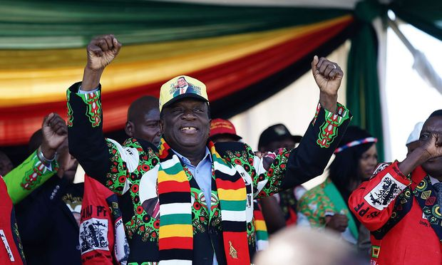 TOPSHOT-ZIMBABWE-POLITICS-UNREST
