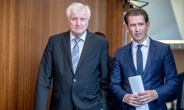 Horst Seehofer und Sebastian Kurz