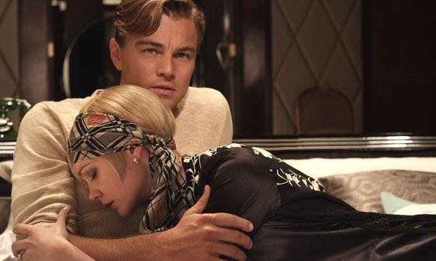 Ein Strahlemann, der eigentlich ein Verlorener ist, und seine unvergessene Liebe: Leonardo DiCaprio als Gatsby und Carey Mulligan als seine Daisy.