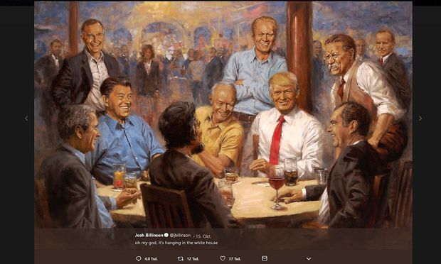 Donald Trump: Präsident ist immer auf der Hut