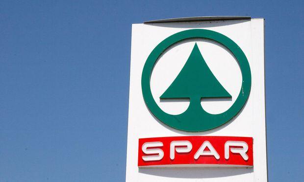 Logo eines Spar Geschaeftes