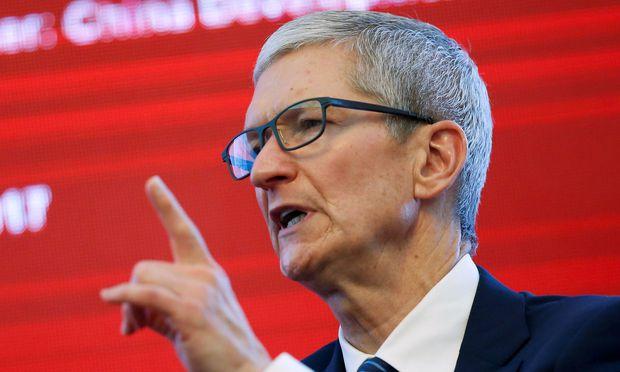 Apple CEO Tim Cook: Stolz auf ein rubostes Quartal