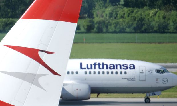 Bei der Profitabilität hinkt die AUA weit hinter der Lufthansa nach.