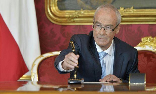 Ex-Höchstgerichtspräsident Eckart Ratz.