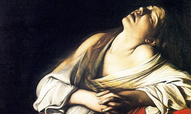 """Michelangelo Merisi da Caravaggio (im Bild seine """"Maria Magdalena in Ekstase"""") malte Religiöses, lebte aber gar nicht moralisch – und engagierte auch Prostituierte als Modelle, sogar für Madonnen."""