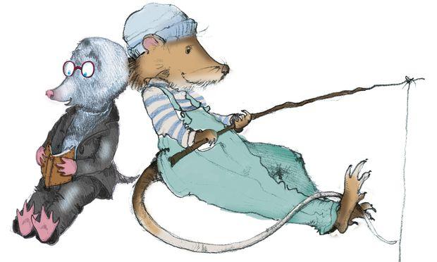 Tierwelt. Autor Kenneth Grahame widmete sich symbolträchtig Maulwurf, Ratte und Co.