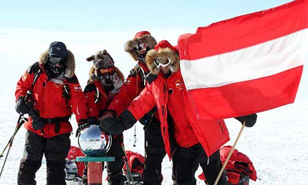 Erster: Österreich schlägt Deutschland beim ''Wettlauf zum Südpol''