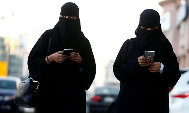 In Saudiarabien sind die Recht von Frauen stark eingeschränkt.