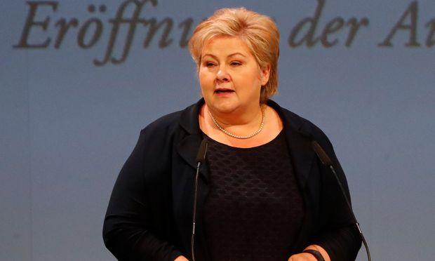 Ministerpräsidentin Solberg