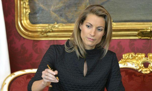 Infrastrukturministerin Valerie Hackl.
