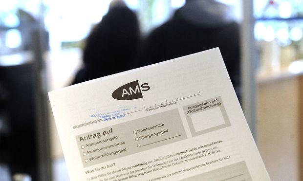 THEMENBILD: ARBEITSMARKTSERVICE AMS / ARBEITSLOSENZAHLEN /ARBEITSLOSE