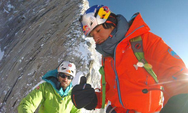 Hansjörg Auer und David Lama