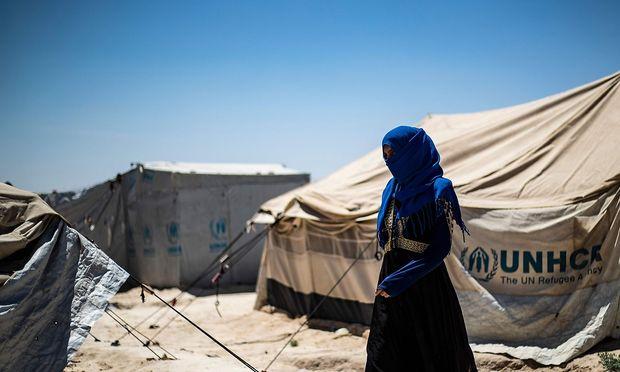 Im Camp Hol leben mehr als 75.000 Menschen, die medizinische Versorgung ist sehr schlecht.