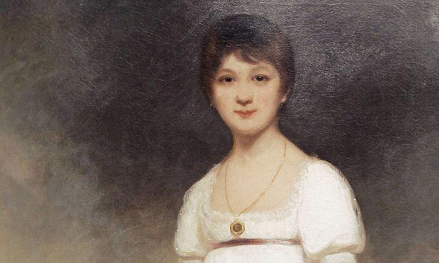 Portrait von Jane Austen, gemalt von Ozias Humphry (1742-1810).