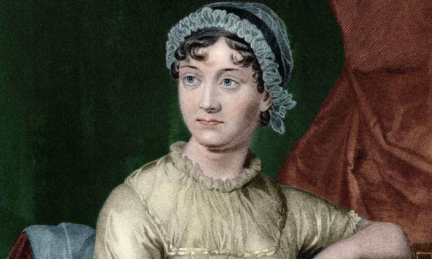 Portrait de l ecrivain anglais Jane Austen 1775 1817 AUFNAHMEDATUM GESCHAeTZT PUBLICATIONxINxGERx