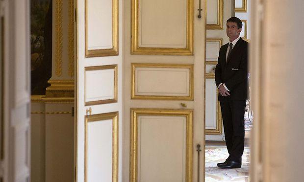Frankreichs Premier Manuel Valls steht mit seinen Forderungen nach einer Neuorientierung der Sozialisten ziemlich alleine da.
