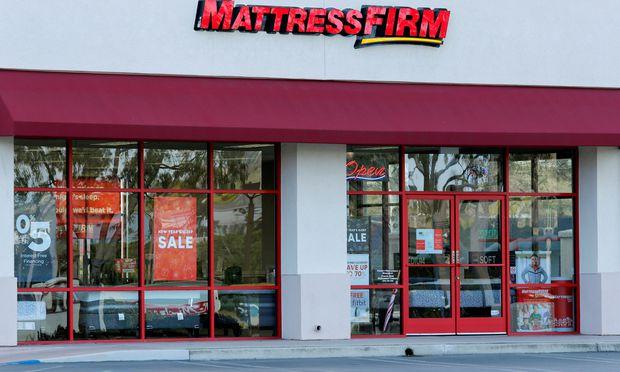 FILE PHOTO: A Mattress Firm store is shown in Encinitas, California