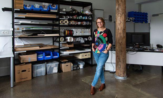Alina Krischkowsky hat zwar Soziologie studiert, doch ihr heutiges Forschungsgebiet ist Human-Computer Interaction.