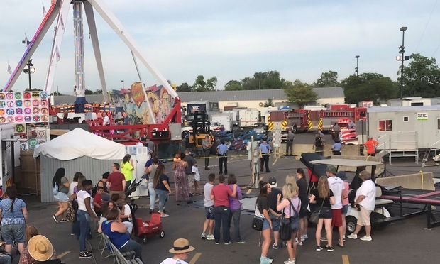 A ride called Fireball malfunctioned causing numerous injuries at the Ohio State Fair in Columbus