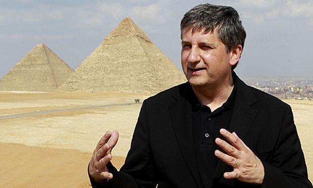 Außenminister Michael Spindelegger bei seinem Besuch in Ägypten