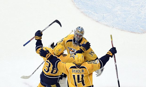NHL: Anaheim gleicht zum 2:2 in den Halbfinal-Playoffs aus