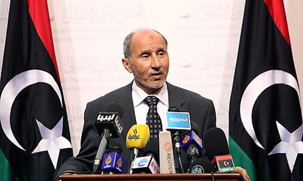 Mustafa Abdul Jalil, Chef des Nationalen Übergangsrates