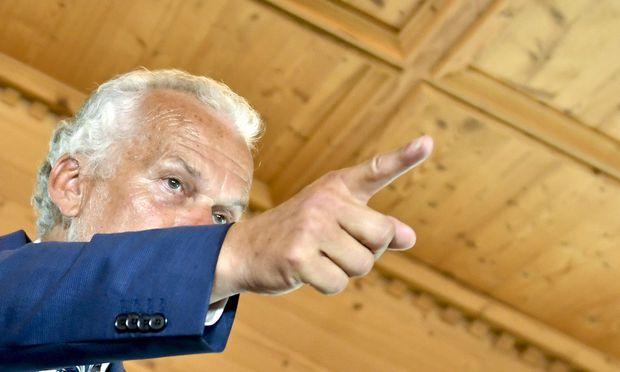 Minister Josef Moser (hier im Tiroler Alpbach im August) will bei der Kompetenzreform die Richtung vorgeben.