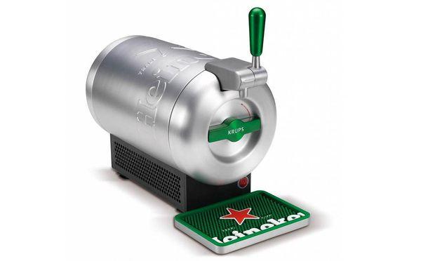 Kleiner Kühlschrank Heineken : Brau union nimmt vier liter fass für beertender aus dem programm