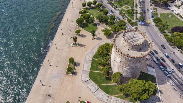 Der weiße Turm von Thessaloniki.