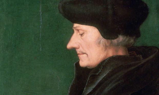 Namensgeber Erasmus von Rotterdam.