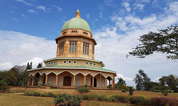 Der Tempel der Bahai in Kampala.