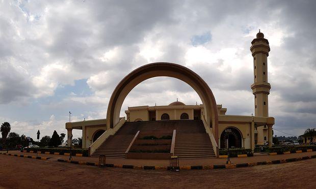 Die Gaddafi-Moschee in Kampala.