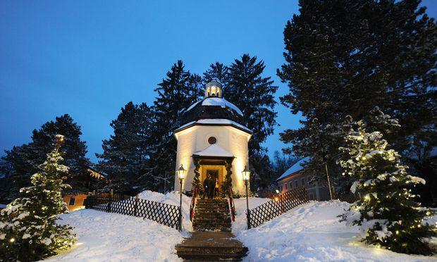 Die Stille-Nacht- Kapelle in Oberndorf in Salzburg.
