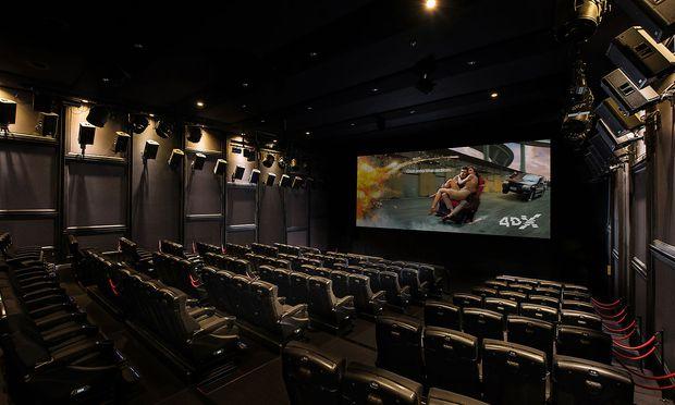 4dx Technologie Turbulenzen Und Regen Im Kino Diepressecom