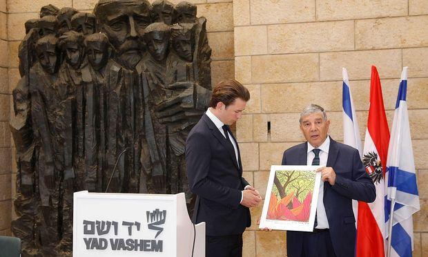 Wien - Jerusalem: Österreichs Bundeskanzler besucht Israel