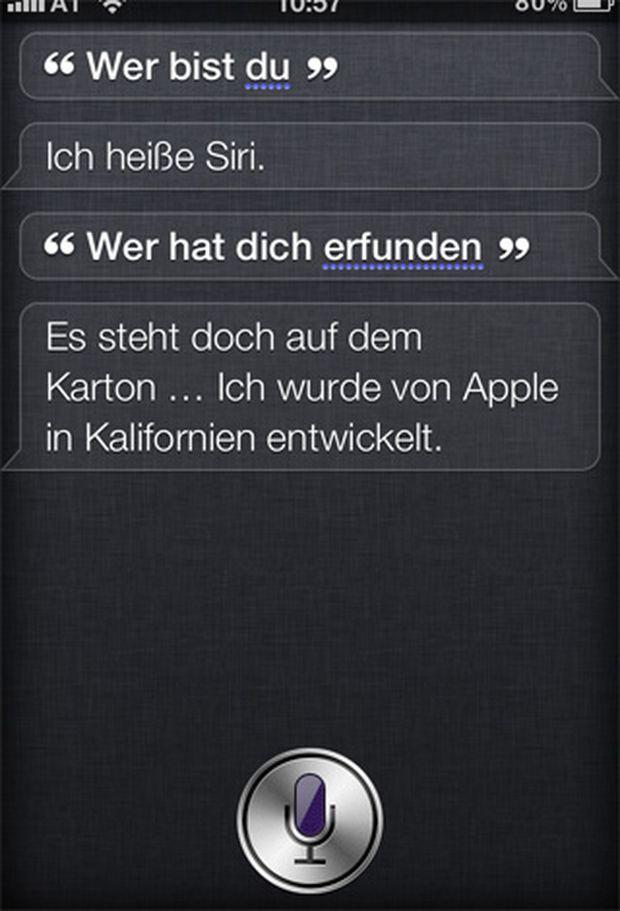 Siri Was Der Neue Iphone Assistent Kann Und Was Nicht Diepressecom