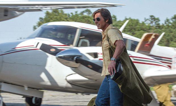 """Ein Ja-Sager stolpert ins große Geschäft: Tom Cruise ist in """"Barry Seal"""" ganz in seinem Element."""