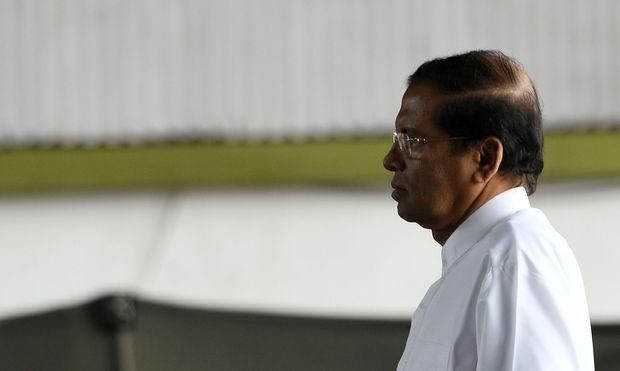 Sri Lankas Präsident Maithripala Sirisena