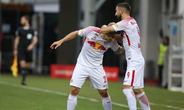 Salzburg zieht erst nach Elfmeter-Schießen ins Cup-Finale ein