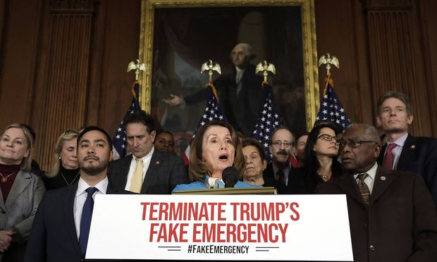 House Speaker Nancy Pelosi D CA speaks at a news conference on the Privileged Resolution to Termi