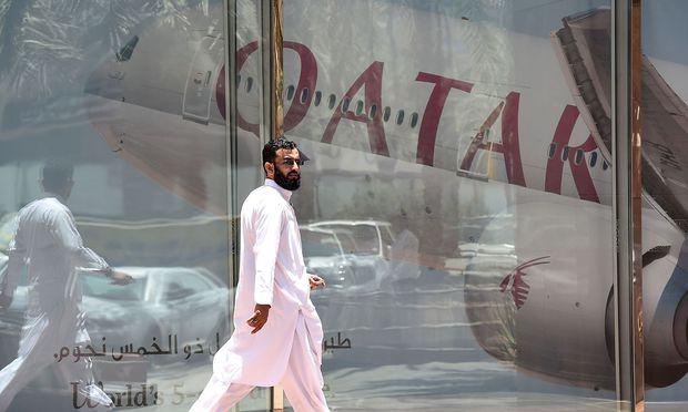 Eine Reihe arabischer Staaten boykottieren Katar. / Bild: APA/AFP/FAYEZ NURELDINE