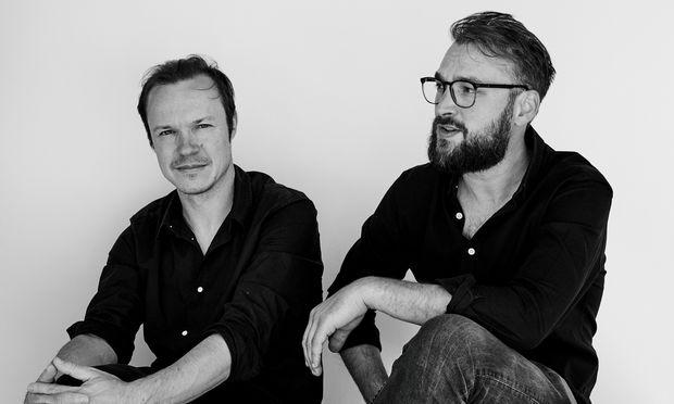 Beständig. Markus Innauer (links) und Sven Matt – verwurzelt in der Bregenzerwälder Gestaltungskultur.