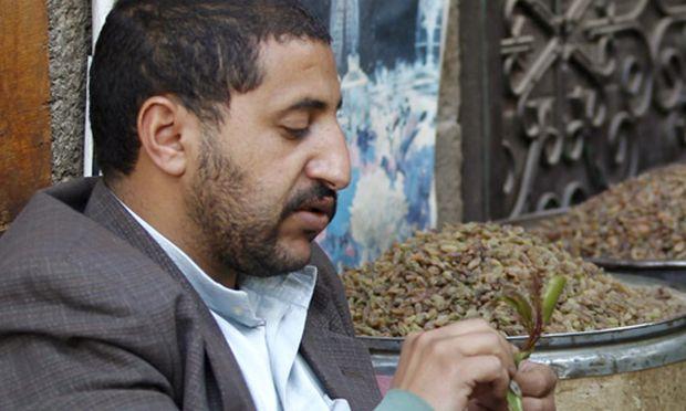 gruene Gift Jemen laehmt