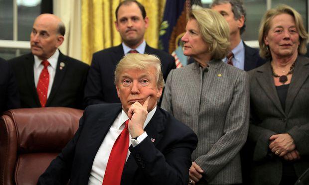 Donald Trump ist mental fit - sagt sein Arzt