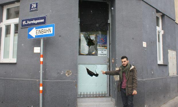 Angriff KurdenVereinslokal Wien